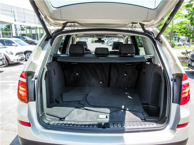 2014 BMW X3 xDrive28i (Stk: P8310) in Thornhill - Image 19 of 27