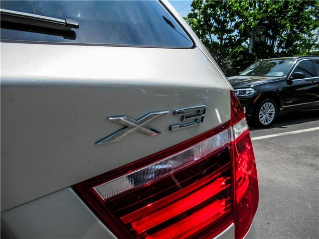 2014 BMW X3 xDrive28i (Stk: P8310) in Thornhill - Image 21 of 27