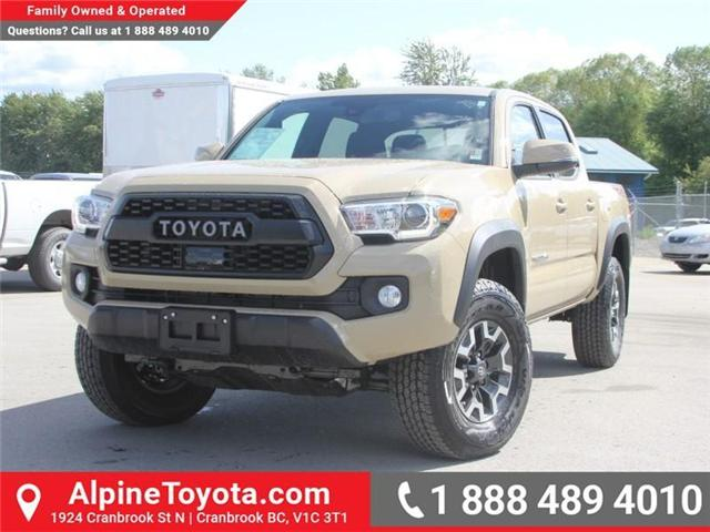2018 Toyota Tacoma TRD Off Road (Stk: X143438) in Cranbrook - Image 1 of 18