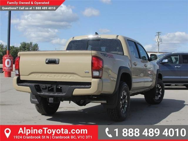 2018 Toyota Tacoma TRD Off Road (Stk: X143438) in Cranbrook - Image 5 of 18