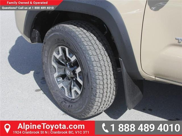 2018 Toyota Tacoma TRD Off Road (Stk: X143438) in Cranbrook - Image 18 of 18