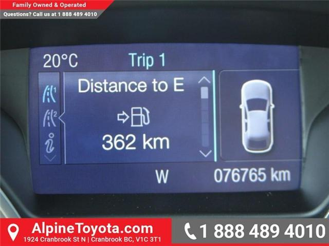 2014 Ford Focus SE (Stk: X138101A) in Cranbrook - Image 12 of 17