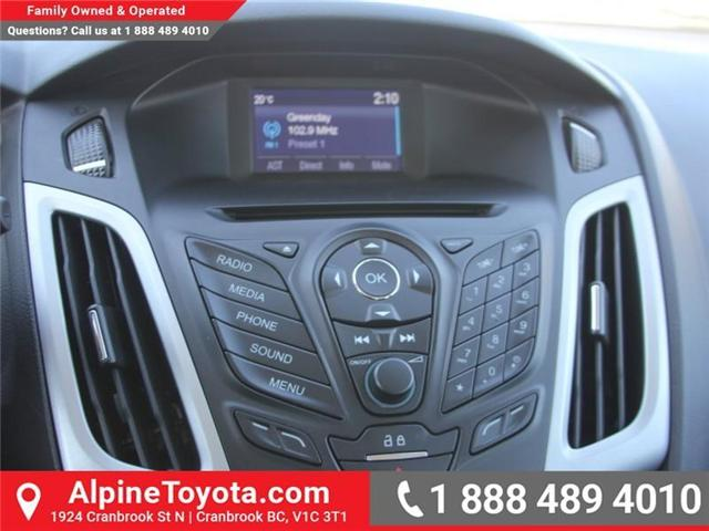 2014 Ford Focus SE (Stk: X138101A) in Cranbrook - Image 13 of 17
