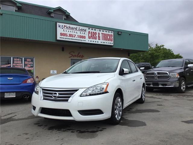 2015 Nissan Sentra 1.8 S (Stk: ) in Bolton - Image 1 of 26