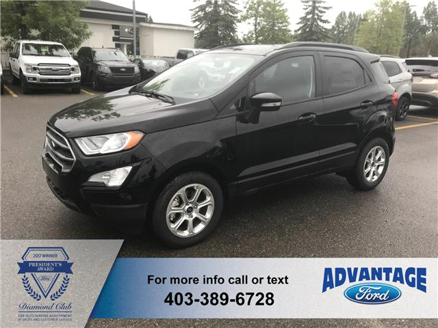 2018 Ford EcoSport SE (Stk: J-093) in Calgary - Image 1 of 6