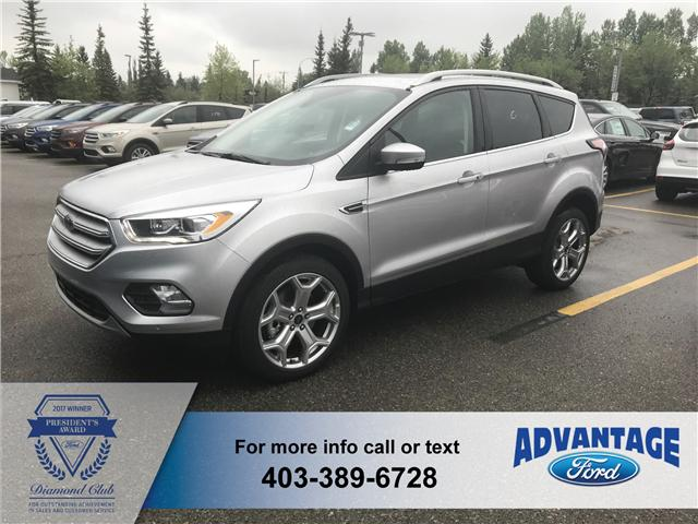 2018 Ford Escape Titanium (Stk: J-820) in Calgary - Image 1 of 5