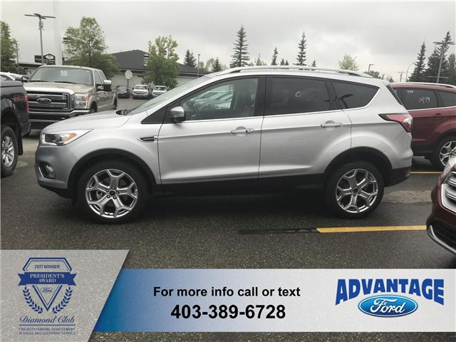 2018 Ford Escape Titanium (Stk: J-820) in Calgary - Image 2 of 5