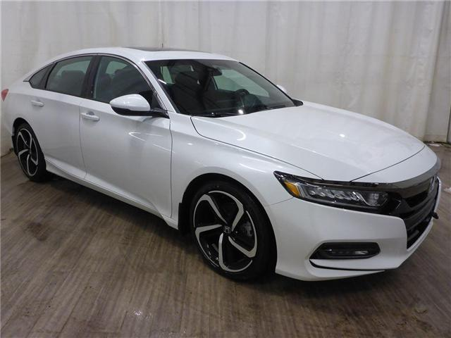 2018 Honda Accord Sport (Stk: 1844036) in Calgary - Image 1 of 22