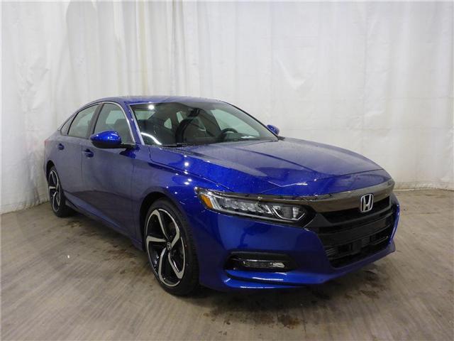 2018 Honda Accord Sport (Stk: 1844047) in Calgary - Image 1 of 26