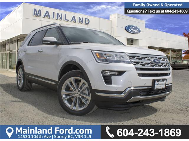 2018 Ford Explorer Limited (Stk: 8EX6344) in Surrey - Image 1 of 25