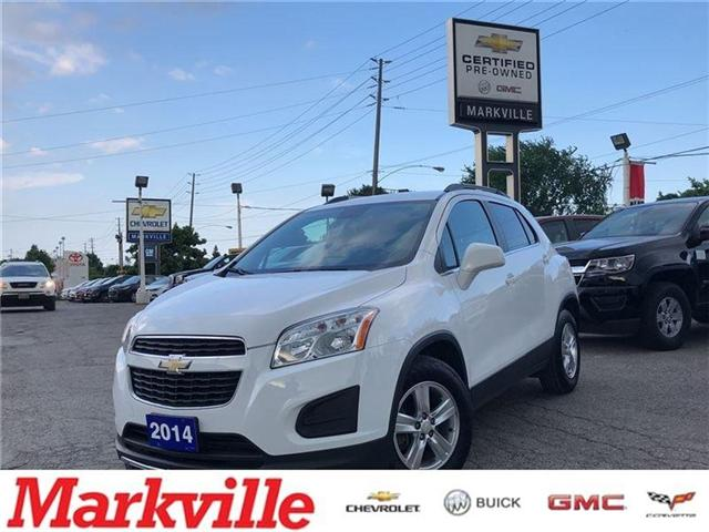 2014 Chevrolet Trax LT- GM CERTIFIED PRE-OWNED-1 OWNER TRADE (Stk: P6201) in Markham - Image 1 of 19