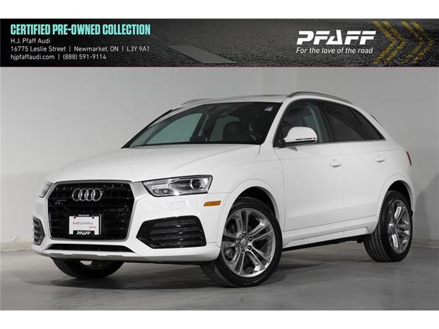 2018 Audi Q3 2.0T Progressiv (Stk: 52834) in Newmarket - Image 1 of 16