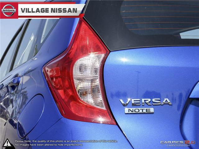 2017 Nissan Versa Note 1.6 SV (Stk: R70945) in Unionville - Image 12 of 27