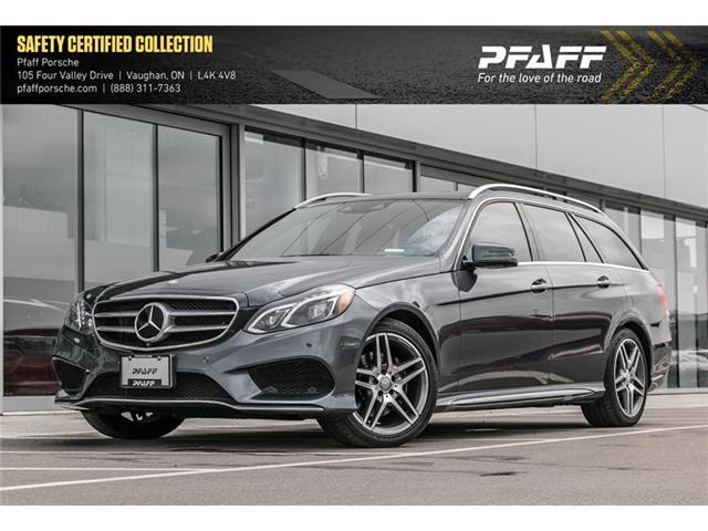 2016 Mercedes-Benz E400 4MATIC Wagon (Stk: P12770A) in Vaughan - Image 1 of 2