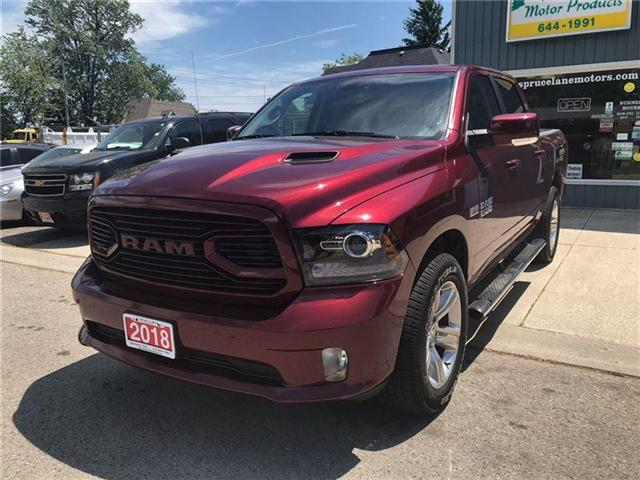 2018 RAM 1500 Sport (Stk: 1C6RR7) in Belmont - Image 2 of 21