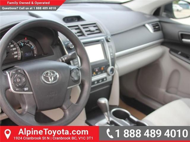 2014 Toyota Camry LE (Stk: U355915M) in Cranbrook - Image 8 of 15