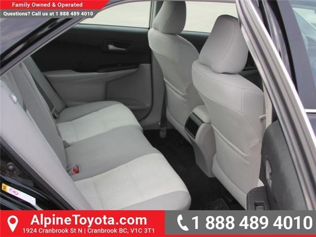 2014 Toyota Camry LE (Stk: U355915M) in Cranbrook - Image 11 of 15