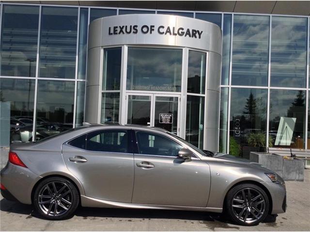 2018 Lexus IS 350 Base (Stk: 180491) in Calgary - Image 1 of 9
