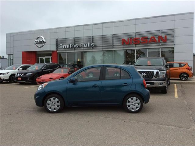 2018 Nissan Micra SV (Stk: 18-110) in Smiths Falls - Image 1 of 13