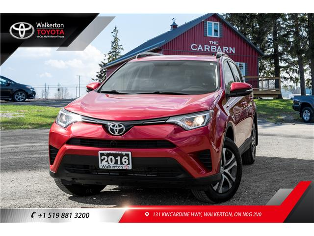 2016 Toyota RAV4 LE (Stk: 18312A) in Walkerton - Image 1 of 20