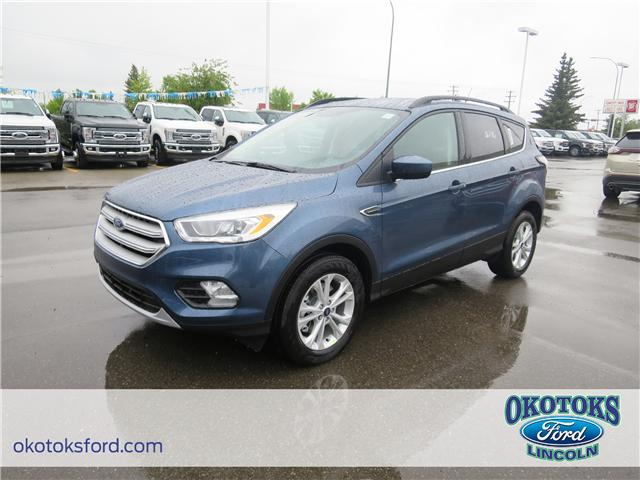 2018 Ford Escape SEL (Stk: JK-351) in Okotoks - Image 1 of 5