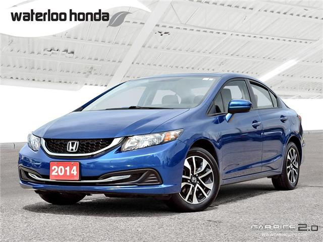 2014 Honda Civic EX (Stk: U3871) in Waterloo - Image 1 of 28