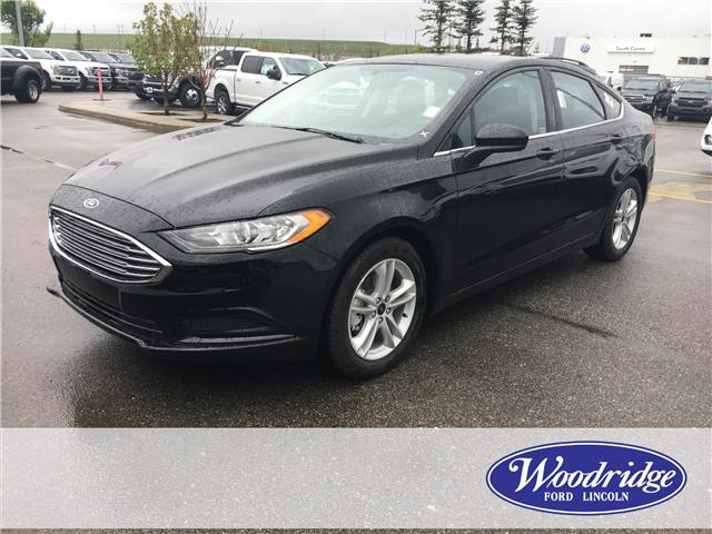 2018 Ford Fusion SE (Stk: J-1757) in Calgary - Image 1 of 5