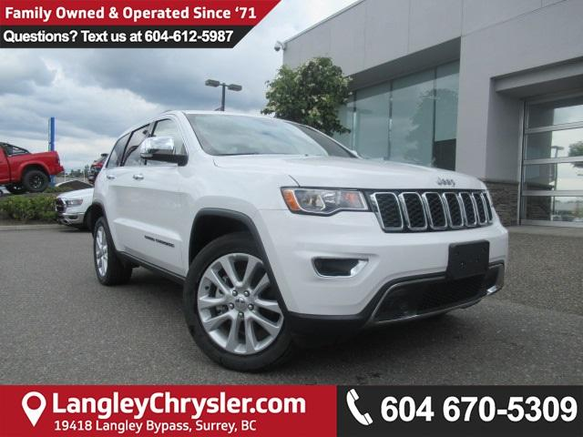 2017 Jeep Grand Cherokee Limited (Stk: EE892210) in Surrey - Image 1 of 26