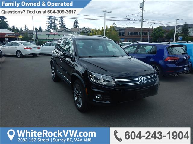 2017 Volkswagen Tiguan Highline (Stk: HT038056) in Surrey - Image 1 of 29