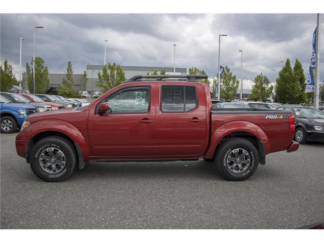 2016 Nissan Frontier PRO-4X (Stk: H558227A) in Abbotsford - Image 4 of 27