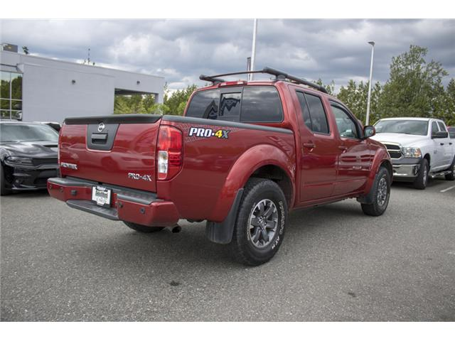 2016 Nissan Frontier PRO-4X (Stk: H558227A) in Abbotsford - Image 8 of 27