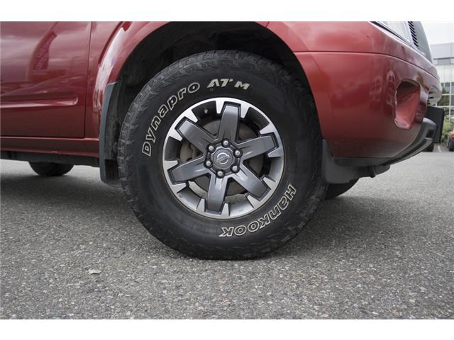 2016 Nissan Frontier PRO-4X (Stk: H558227A) in Abbotsford - Image 10 of 27