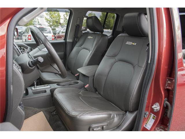 2016 Nissan Frontier PRO-4X (Stk: H558227A) in Abbotsford - Image 13 of 27