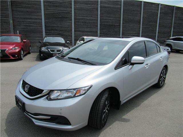 2015 Honda Civic EX (Stk: 15025AB) in Toronto - Image 2 of 18