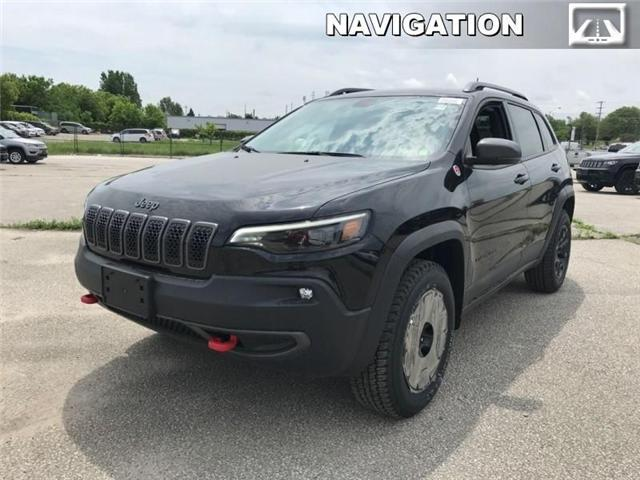 2019 Jeep Cherokee Trailhawk (Stk: J17933) in Newmarket - Image 1 of 21