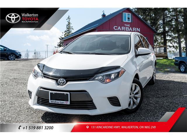 2015 Toyota Corolla LE (Stk: L8030) in Walkerton - Image 1 of 19
