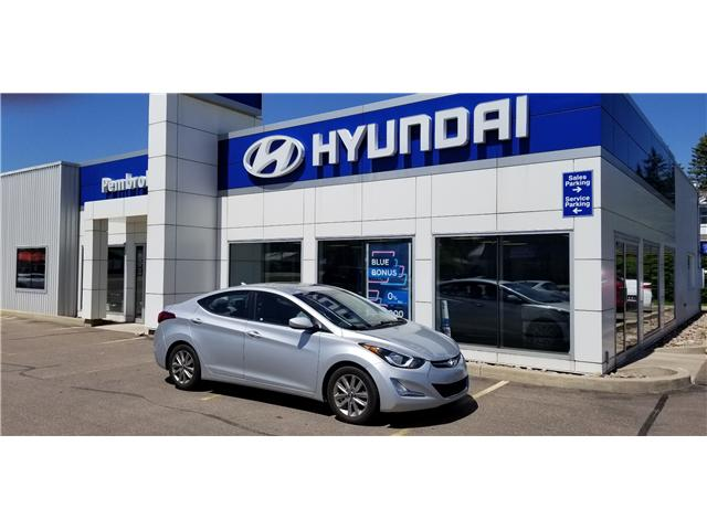 2014 Hyundai Elantra GLS (Stk: 18017-1) in Pembroke - Image 1 of 1