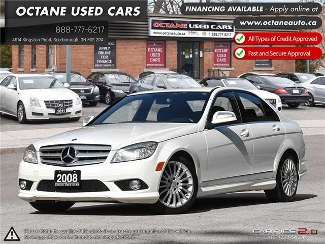 2008 Mercedes-Benz C-Class Base (Stk: ) in Scarborough - Image 1 of 27