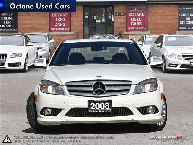 2008 Mercedes-Benz C-Class Base (Stk: ) in Scarborough - Image 2 of 27