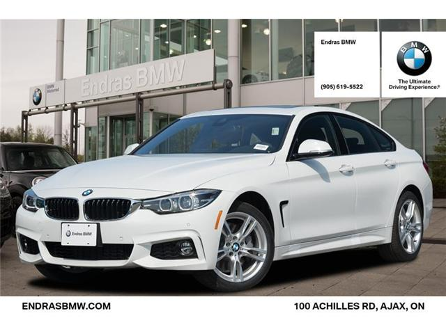 2019 BMW 430 Gran Coupe i xDrive (Stk: 40920) in Ajax - Image 1 of 22