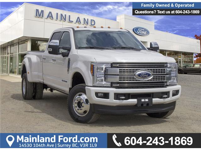 2018 Ford F-350 Platinum (Stk: 8F32888) in Surrey - Image 1 of 30