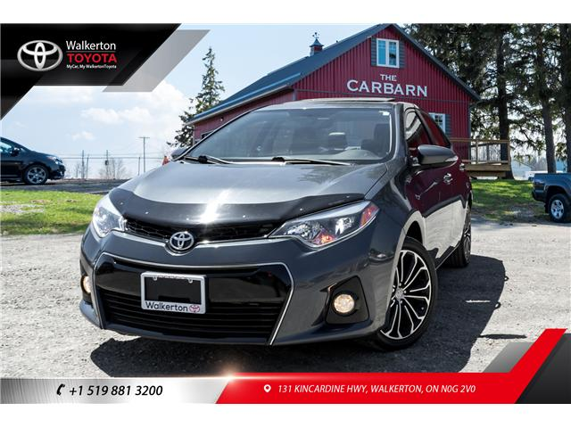 2014 Toyota Corolla S (Stk: P8096) in Walkerton - Image 1 of 21