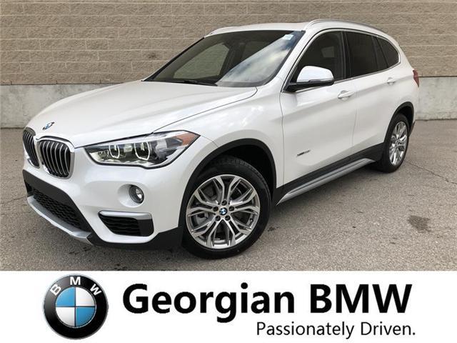 2018 BMW X1 xDrive28i (Stk: B18155) in Barrie - Image 1 of 19