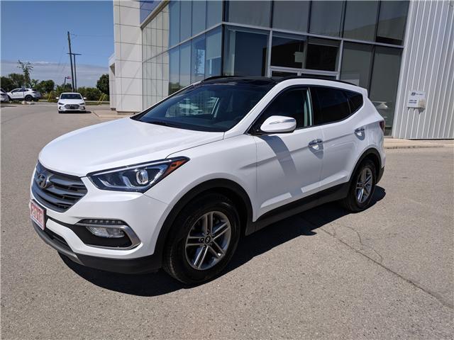 2018 Hyundai Santa Fe Sport 2.4 SE (Stk: 85046) in Goderich - Image 2 of 19