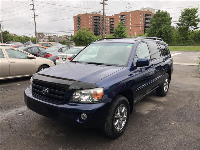 2007 Toyota Highlander V6 (Stk: -) in Ottawa - Image 1 of 18