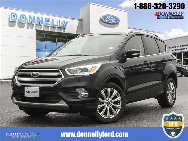 2018 Ford Escape Titanium (Stk: DUR5755) in Ottawa - Image 1 of 27