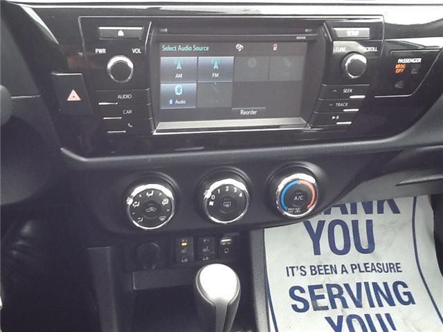 2015 Toyota Corolla S (Stk: ) in Owen Sound - Image 3 of 3