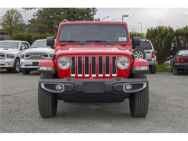 2018 Jeep Wrangler Unlimited Sahara (Stk: J153696) in Abbotsford - Image 2 of 26