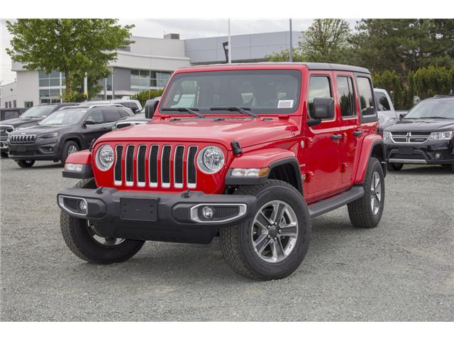 2018 Jeep Wrangler Unlimited Sahara (Stk: J153696) in Abbotsford - Image 3 of 26
