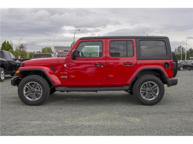 2018 Jeep Wrangler Unlimited Sahara (Stk: J153696) in Abbotsford - Image 4 of 26
